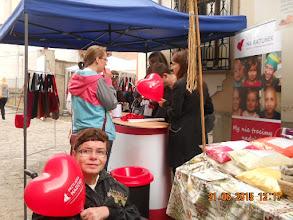 Photo: 21 VI 2015 roku - z balonikem Fundacji