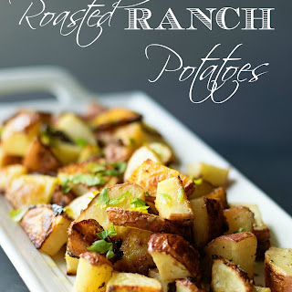 Ranch Oven Roasted Potatoes