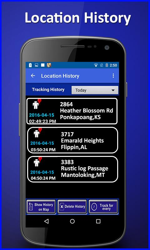 Cell Phone Location Tracker- screenshot