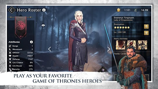 Game of Thrones Beyond the Wall Apk Mod +OBB/Data with [Unlimited Resources] 1