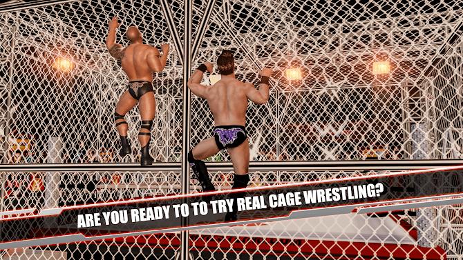Cage Revolution Wrestling World : Wrestling Game Android 16