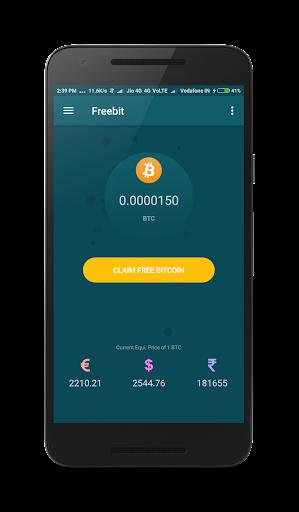 Freebit : Free Bitcoins 1.0 screenshots 1