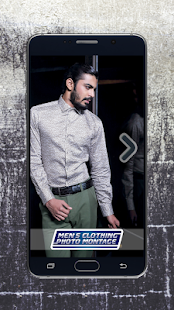 Men's Clothing Photo Montage - náhled