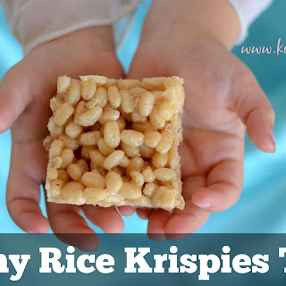 Healthy Rice Krispies™ Treats