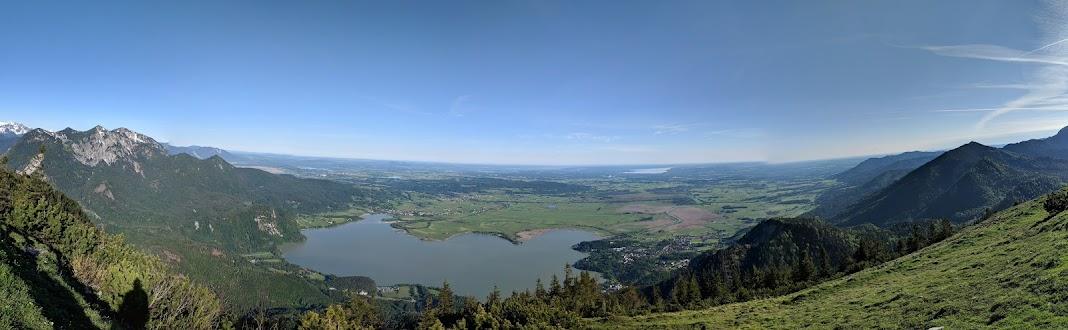 Kochel am See: Sonnenspitz - Jochberg - Rabenkopf hike - Jun 19