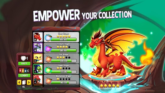Dragon City MOD APK 10.6.1 [One Hit] 5