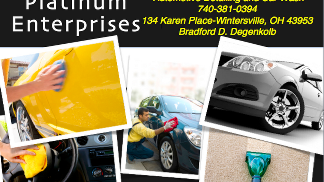 Platinum Car Wash >> Platinum Enterprises Auto Detailing And Car Wash Automotive