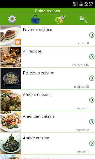 Salad recipes Apk 1