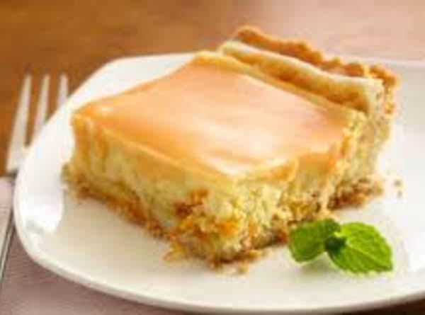Orange Cream Squares Recipe
