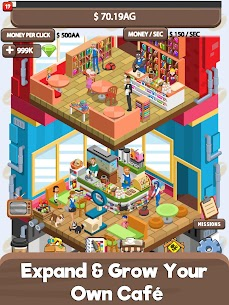 Idle Cafe Tycoon – My Own Clicker Tap Coffee Shop 3