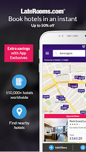 LateRooms: Find Hotel Deals screenshot 0