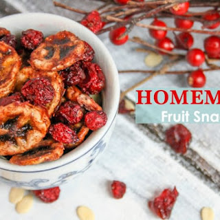 Lower Sugar Homemade Healthy Fruit Snacks