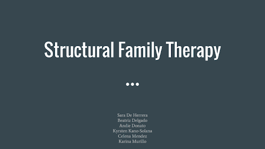 structural family therapy Find out how therapists and counselors are using strategic family therapy techniques to help clients live better, and happier lives.