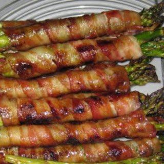 Bacon-Wrapped Asparagus.
