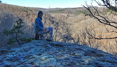 Photo: Some goober in Dismal Hollow looking westward
