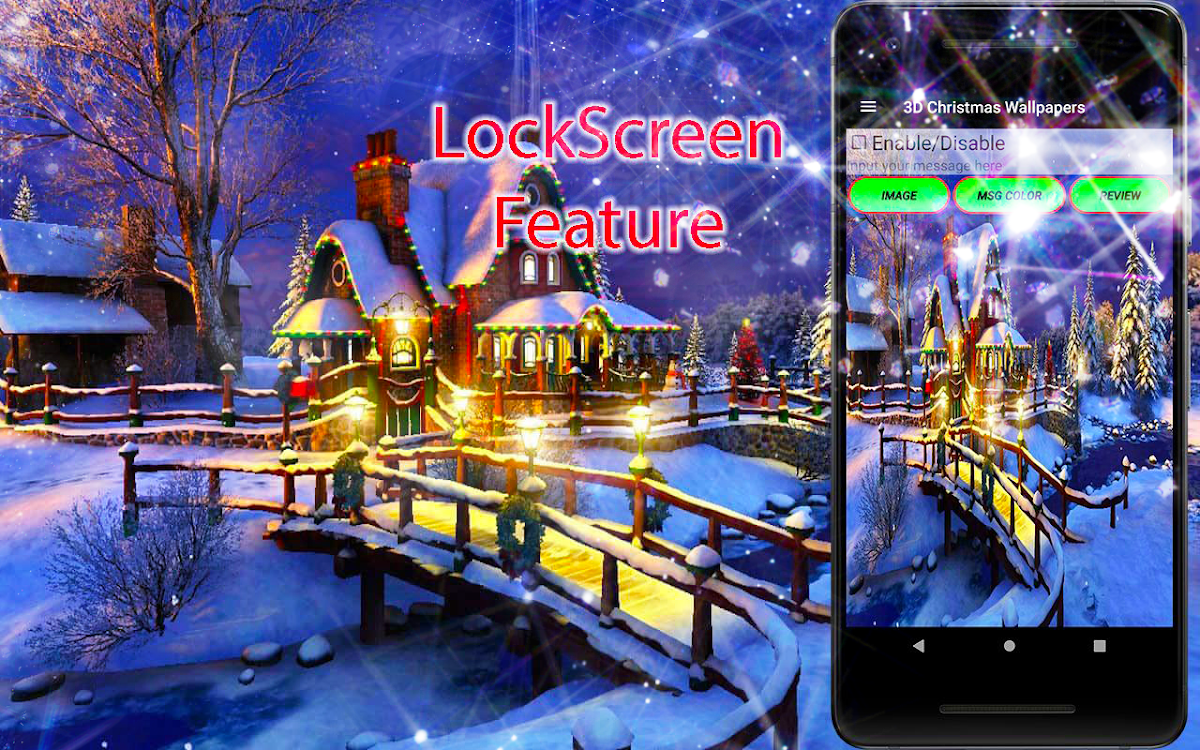 3d Christmas Live Wallpaper Android Apps Appagg