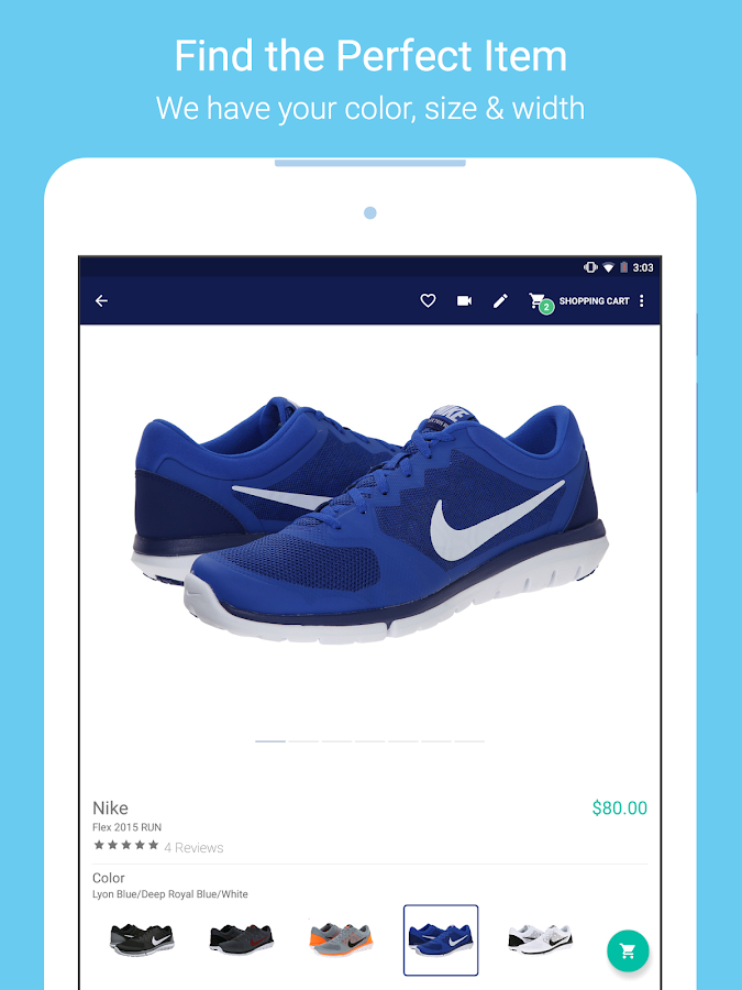 Zappos – Shoe shopping made simple- screenshot