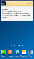 Screenshot of Oxford Dictionary of English T