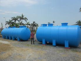 Xử lý nước thải sinh hoạt bằng bồn composite
