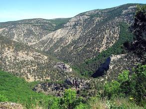 Photo: Самый большой гребешок и изгиб реки Черной под Большой горой.