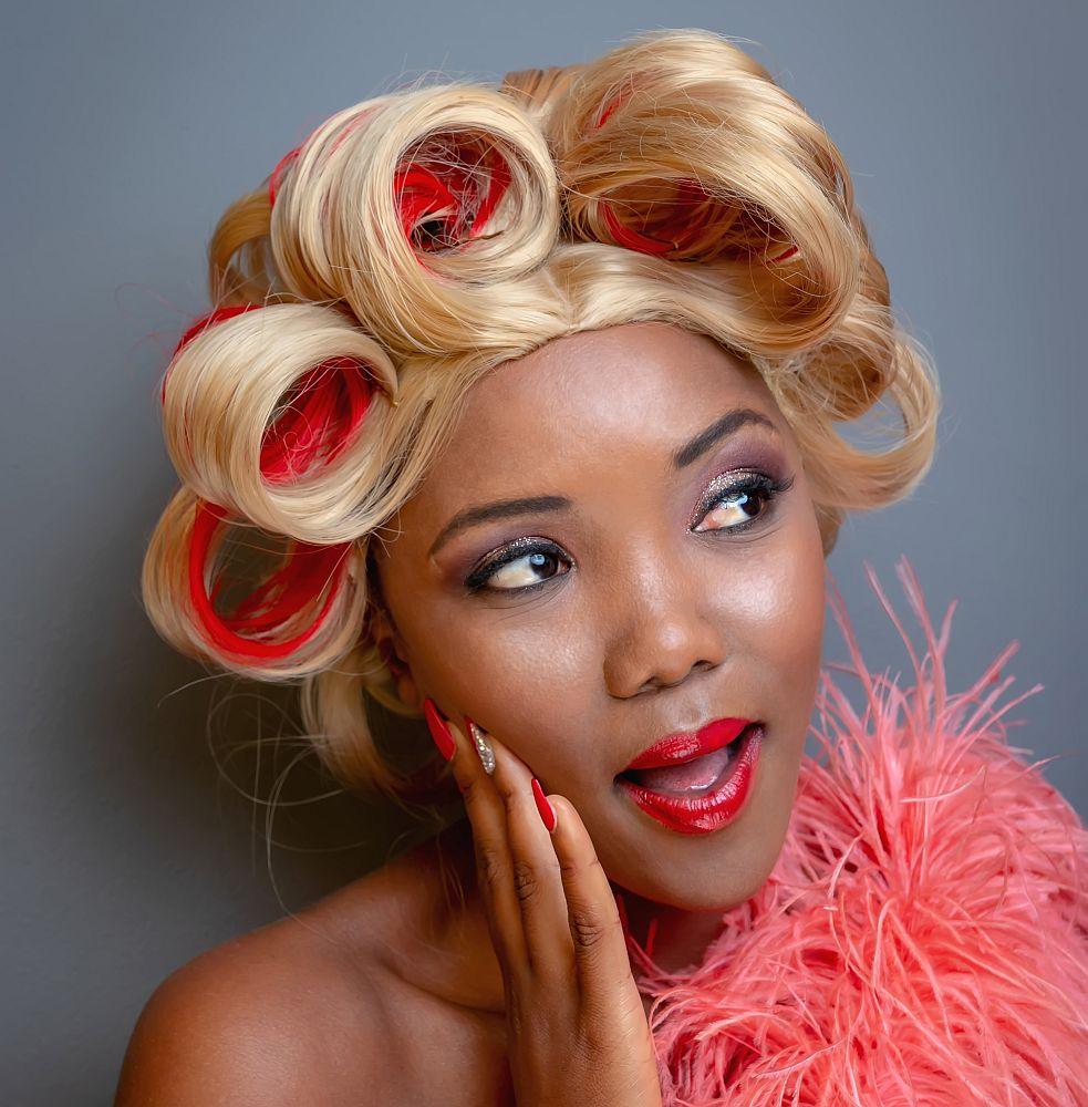 Yolanda Bukani, with hair and make-up by Bliss Hair and Skincare Salon