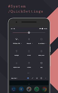 [Substratum] Ethereal Theme (Oreo) Screenshot
