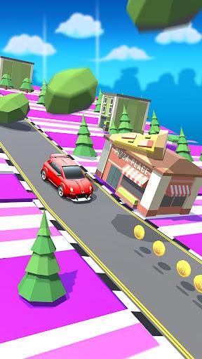 Code Triche trafic Taxi courir 2019: 3d échapper coureur APK MOD (Astuce) screenshots 5