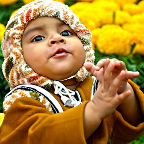 Clapping Baby  by Umair Nayab - Babies & Children Toddlers ( playful, baby photography, toddler, baby boy, portrait,  )
