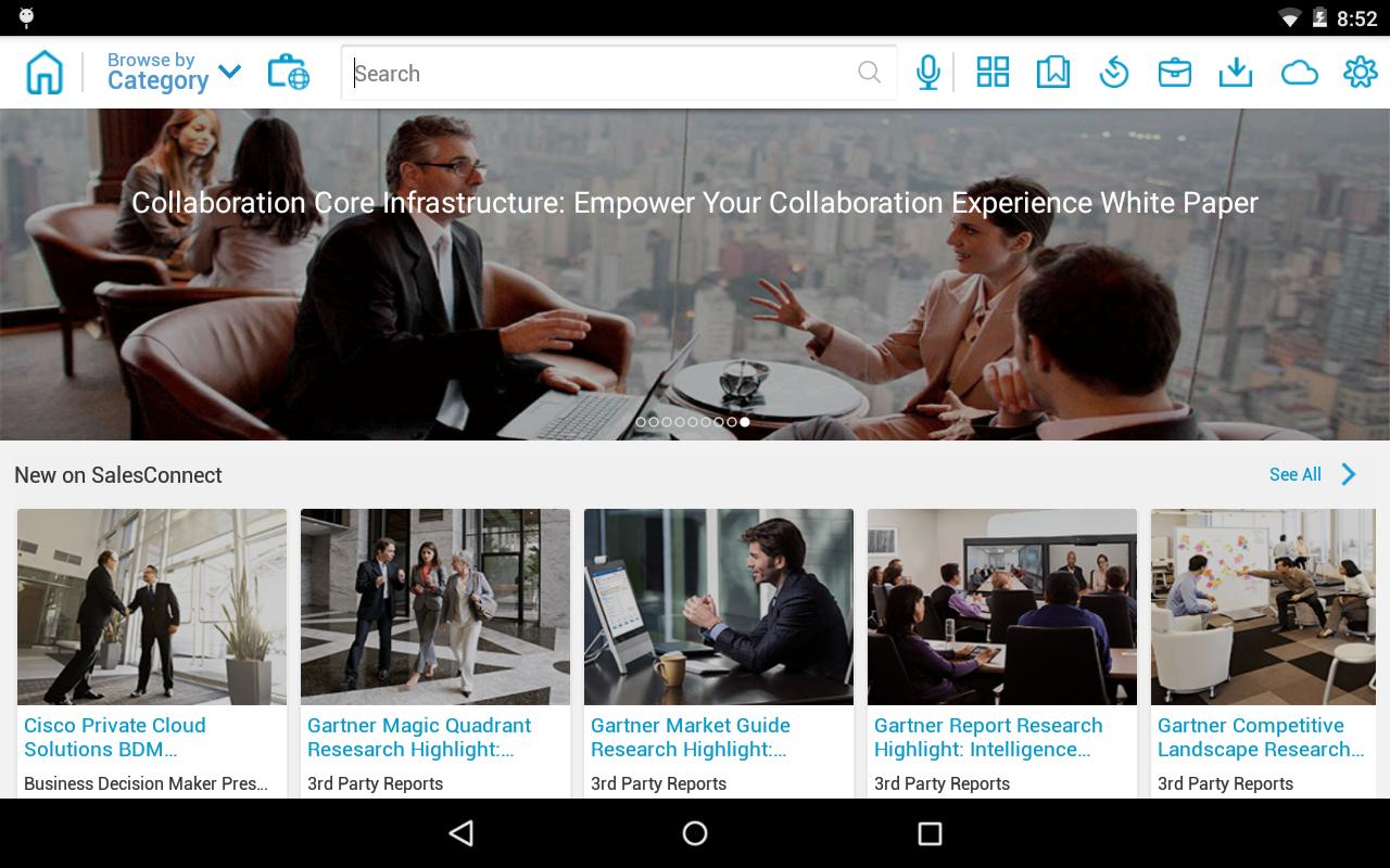Cisco SalesConnect - screenshot