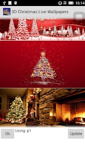 3D Christmas Wallpapers screenshot 6