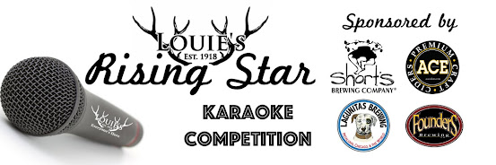 Louie's Rising Star Karaoke Qualifier 6/13/19