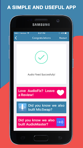 AudioFix: For Videos - Video Volume Booster + EQ APK