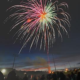 Fireworks! by Avishek Bhattacharya - Public Holidays July 4th