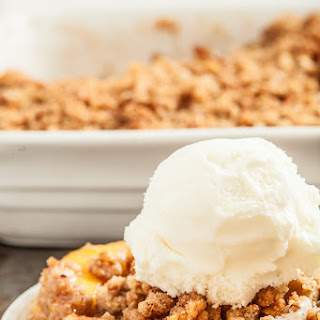 The Best, Crispiest Peach Crisp