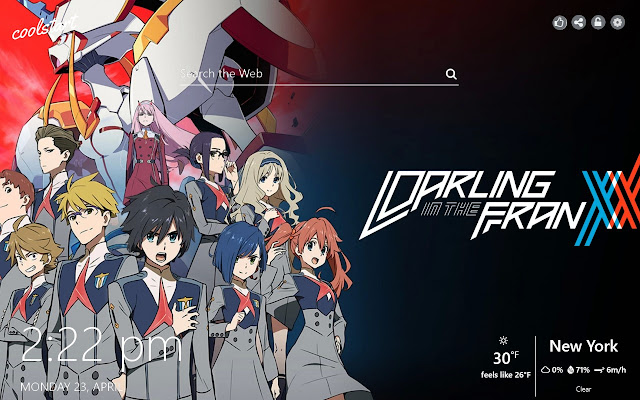 Darling In The FranXX HD Wallpapers Theme
