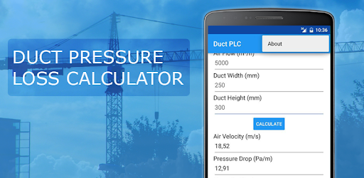 Duct Pressure Loss Calculator - Apps on Google Play