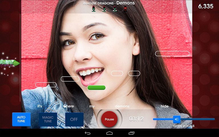 android The Voice: On Stage Screenshot 4