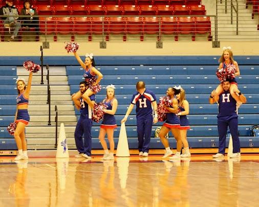 HCC B-ball Cheer