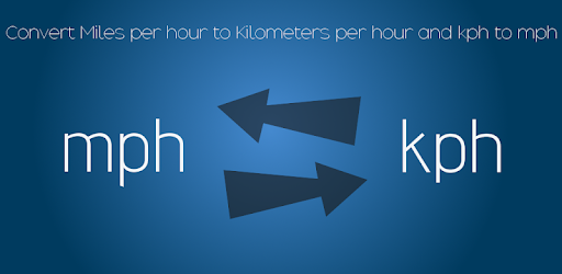 Kilometers To Mph >> Mph To Kph Kilometers Per Hour To Miles Per Hour Apps On