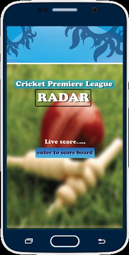 IPL Live Score RADAR