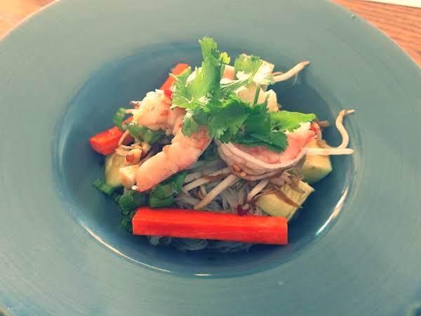 Vietnamese Spicy Shrimp And Veggie Noodle Salad Recipe