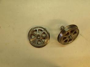 Photo: Les roues sont usinées