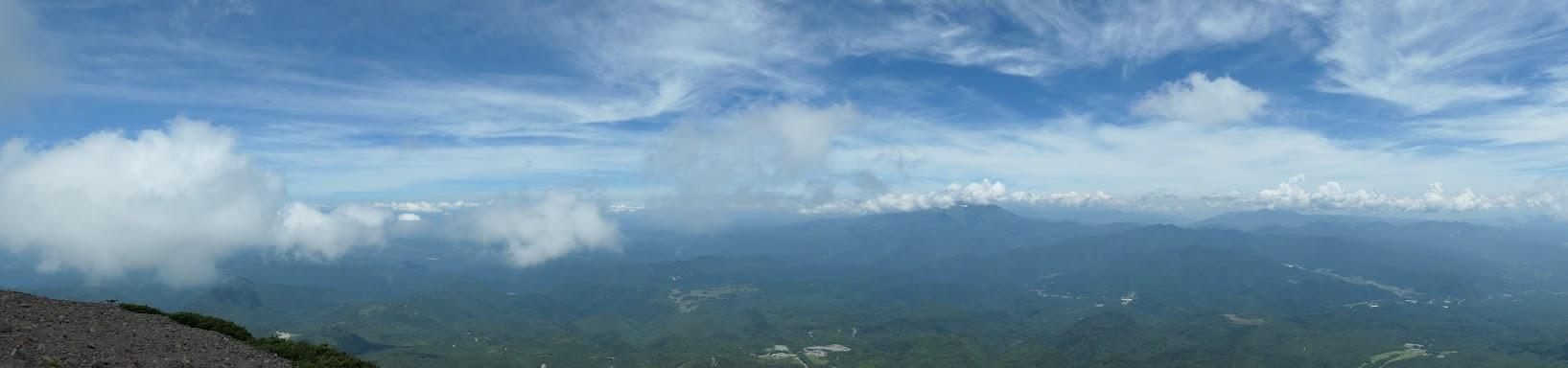 継子岳からパノラマ