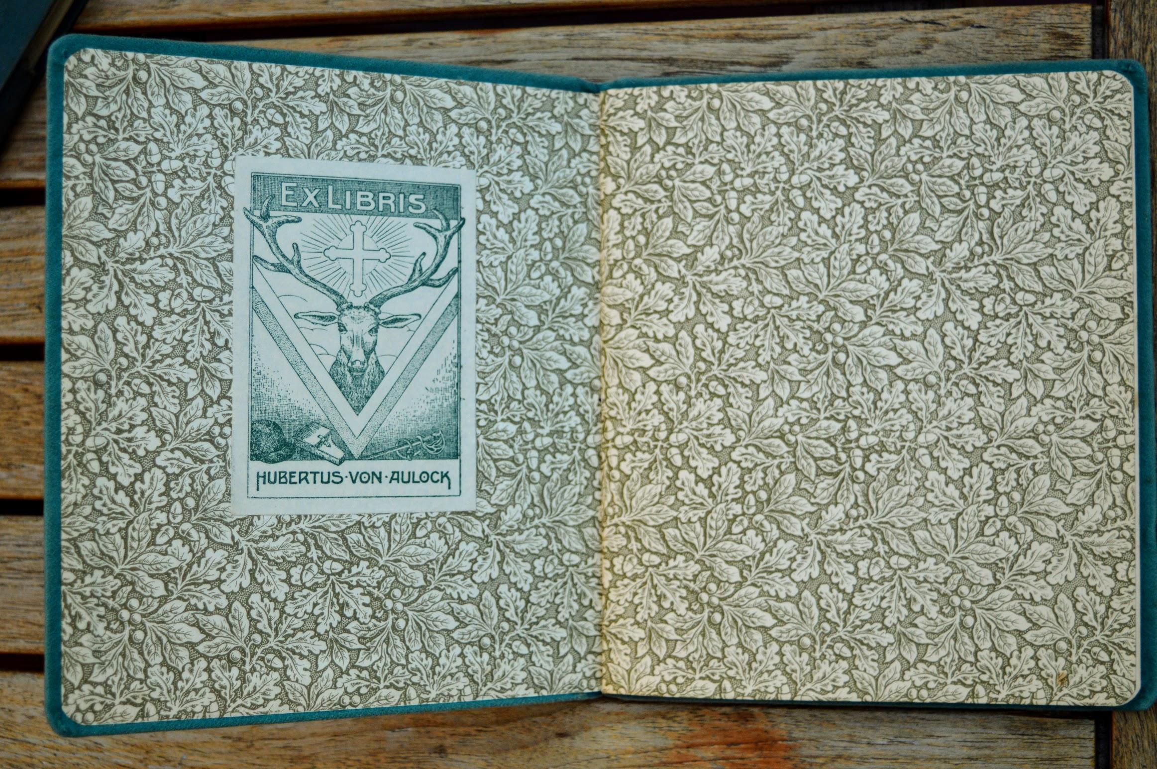 Walter Leithäuser - Die Geschichte des Freikorps v. Aulock - 1922 - Ex libris Hubertus von Aulock