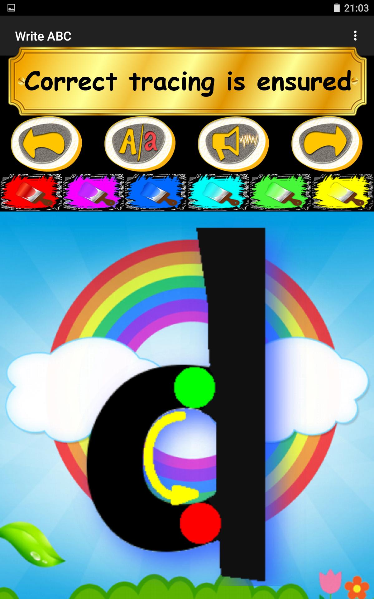Write ABC - Learn Alphabets screenshot #20