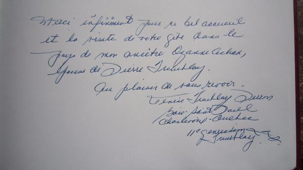 livre-d-or-de-la-chambre-d-hotes-le-clos-de-la-garenne-17700-puyravault-tremblay-quebec