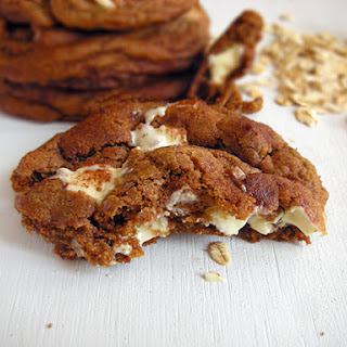 Snickerdoodle White Chocolate Cookies with Coconut Oil