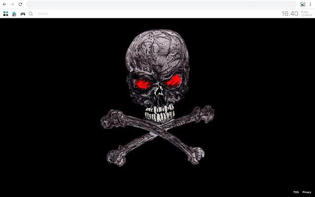 Hd Skulls Wallpaper 3