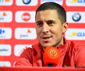 """Eden Hazard n'est pas inquiet pour l'avenir des Diables: """"Et dans huit ans, peut-être mon fils..."""""""