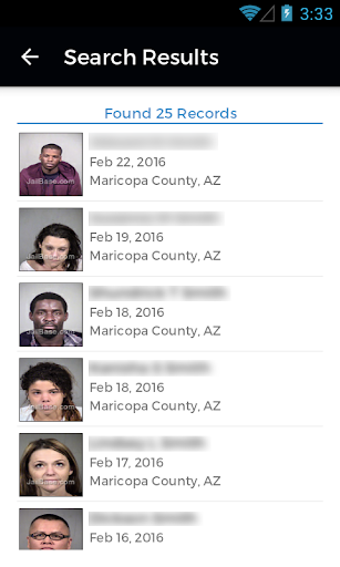 JailBase - Arrests + Mugshots  screenshots 3